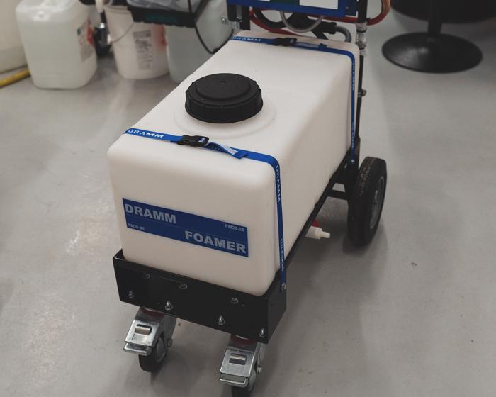 4 wheel Dramm foamer