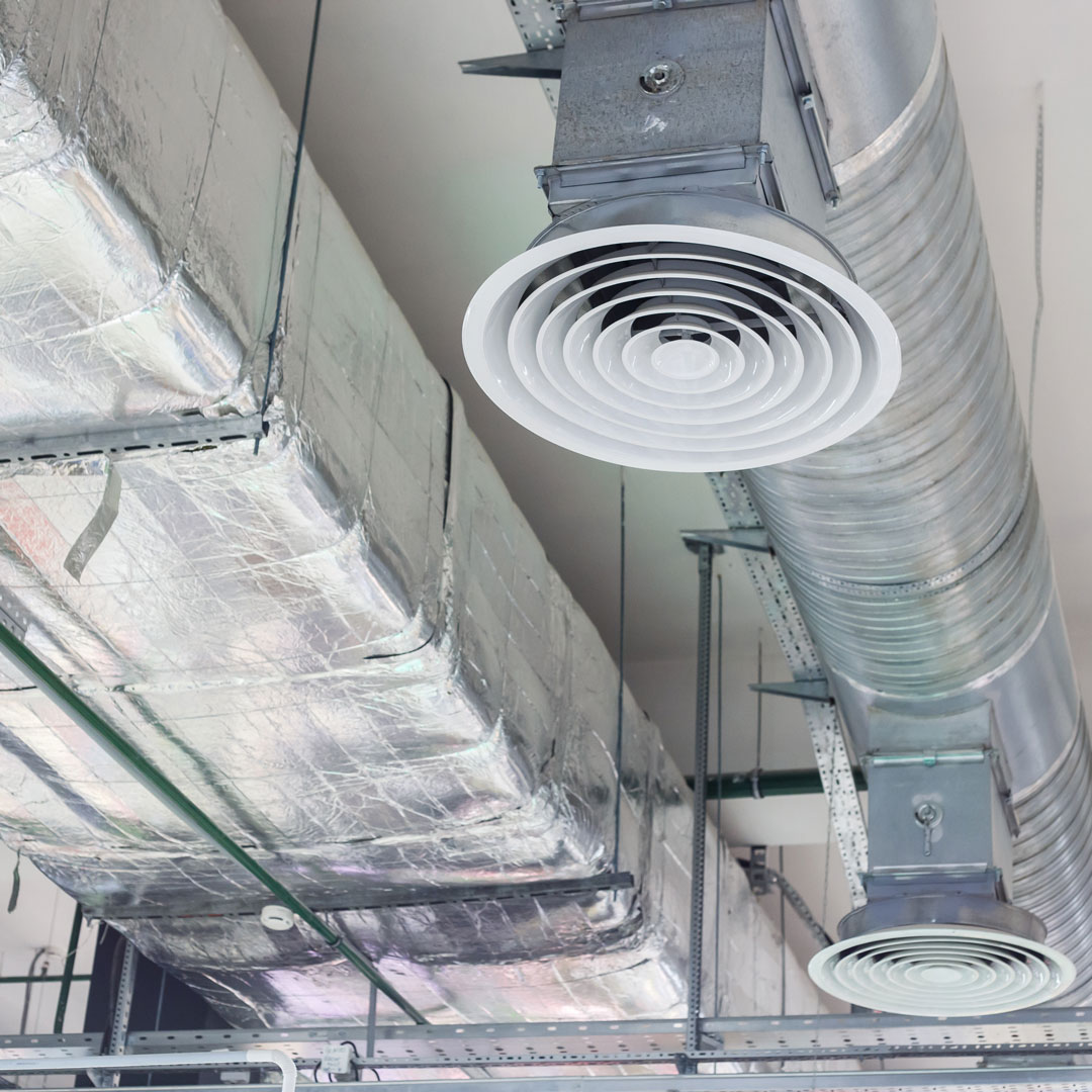 Air duct and vent